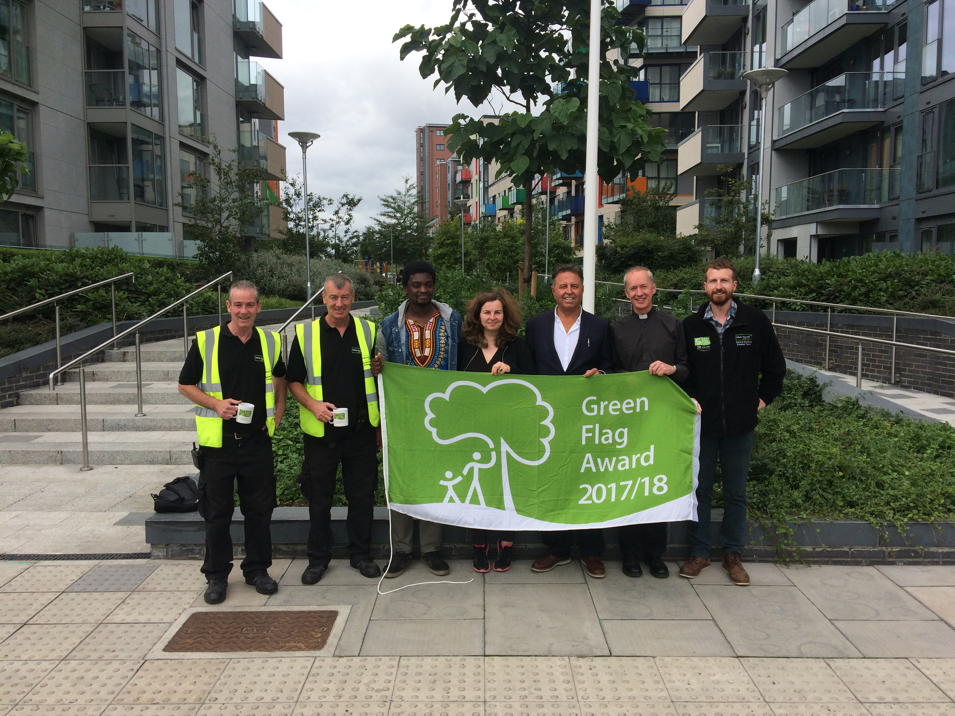 Green flag awarded for second year